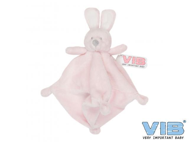 8ef418692fa581 Pluche knuffeldoekje konijn VIB   Ditwinkeltje